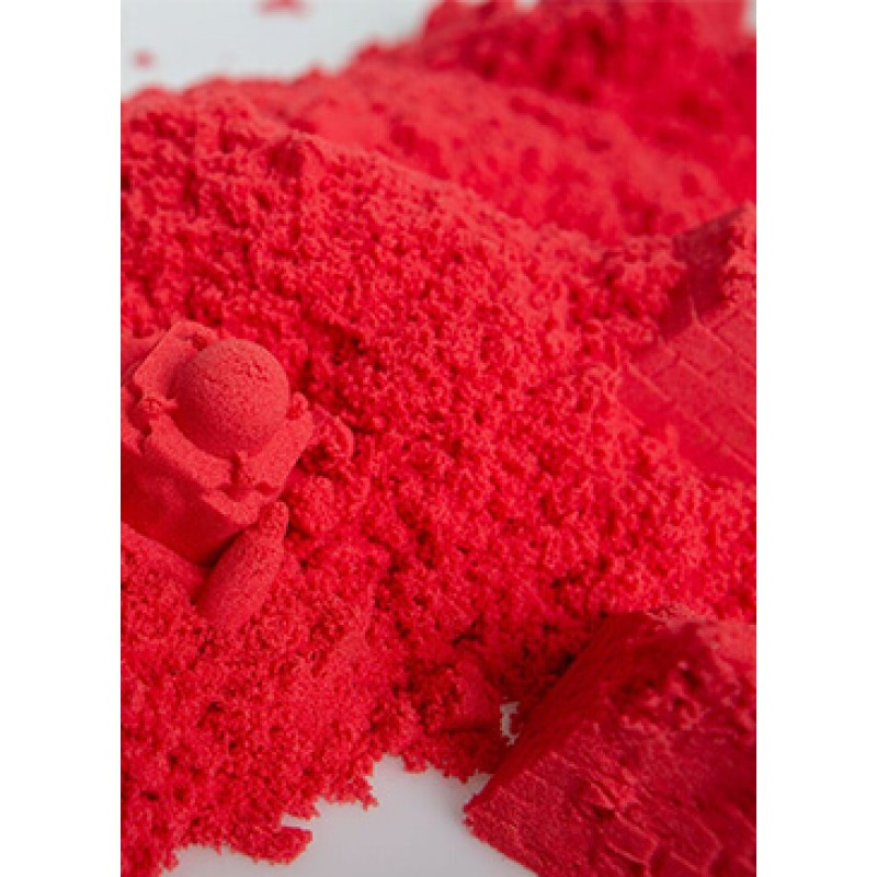 Red Play Sand Kinetic Sensory Activity